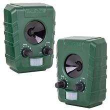 Doppelpack: 2x VOSS.sonic 1200 Ultraschall-Abwehr - Katzenschreck, Katzenabwehr, Hundeschreck