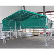 VOSS.farming Panel-Zelt – Weideunterstand  – Weidezelt 3,6 m x 4 m