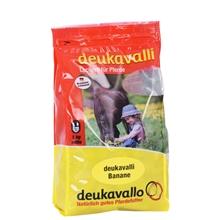 deukavalli Pferdeleckerlies - Banane, 1kg