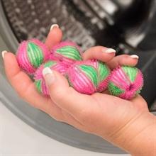 6x Waschkugeln, Waschbälle gegen Tierhaare