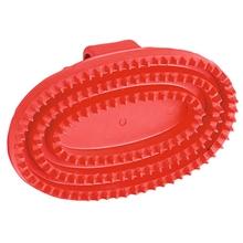 Gummistriegel Junior oval für Pferde und Ponys