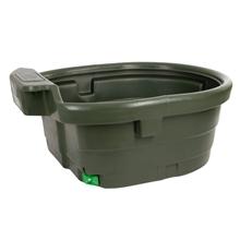 KERBL Weidetränke, Weidetrog 550 Liter mit Ablauf für Pferde, Ponys und Rinder