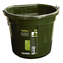 Futter- und Wassereimer FlatBack, 20 l