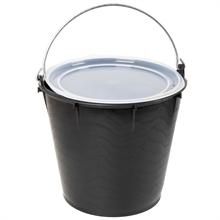 Eimer mit Deckel, Original Schweden Qualität, 7 Liter