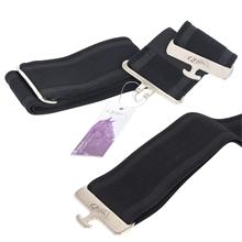QHP Elastischer Deckengurt, schwarz