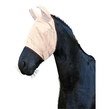 Fliegenschutzmaske mit Ohrenschutz für Pferde und Ponys