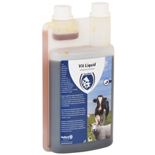 """""""Vit Liquid"""" Multivitamin, unterstützt die Gesundheit Ihres Tieres, 1 Liter"""