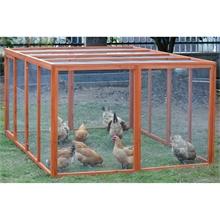 """VOSS.farming Freilaufgehege """"Doris"""" für Geflügel und Kleintiere, 2000 x 990 x 1600mm"""