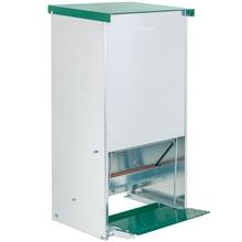 "VOSS.farming Geflügel-Futterautomat ""Gallus 20"" mit Trittklappe, Metall, 20kg"