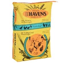 """HAVENS """"SCHARREL-MEHL"""", Legefutter für Geflügel, Fasane, Wasservögel, 25kg"""