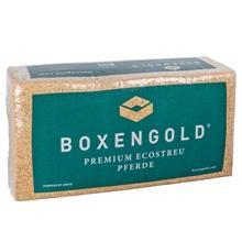 BOXENGOLD - Premium Ecostreu, Einstreu für Pferde, 20kg