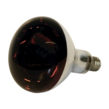 Infrarotlampe 250 Watt, Hartglas - Infrarotbirne, Infrarot Glühbirne, rot
