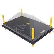 Schutzabdeckung für Wärmeplatte 40x60cm, Kunststoff (PET)
