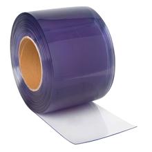 25 m Rolle zum Selbstherstellen von transparenten PVC Streifen für PVC Streifenvorhang, 20 cm x 2 mm