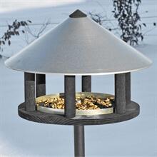 Odensee - Vogelhaus im dänischen Design, 155cm hoch, 40cm Durchmesser, inkl. Ständer