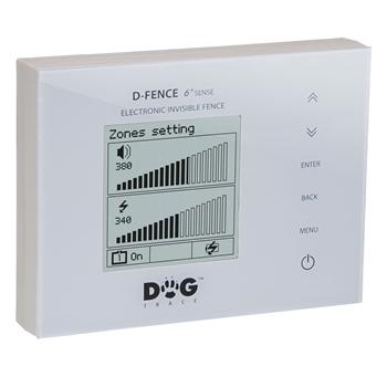 "DogTrace ""D-Fence 2002 (6th Sense)"" WHITE Unsichtbarer Hundezaun"
