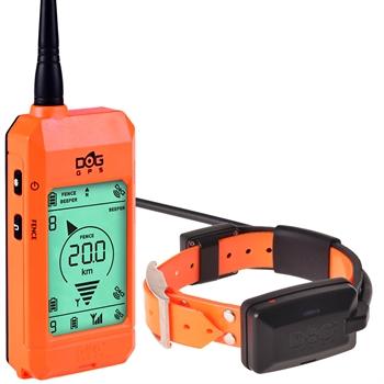 DogTrace GPS X20 Hundeortung für die Jagd - Hundeortungsgerät für Profis, ORANGE