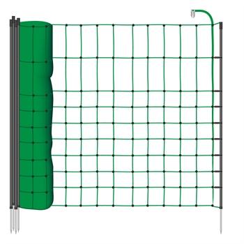 12m VOSS.miniPET Kleintier-Netz, 65cm, grüne Litze, 1 Spitze