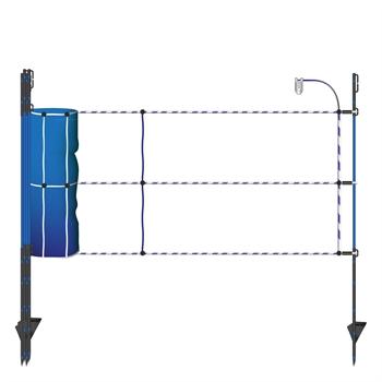 50m Wildabwehr Netz, Wildschweinnetz, blau