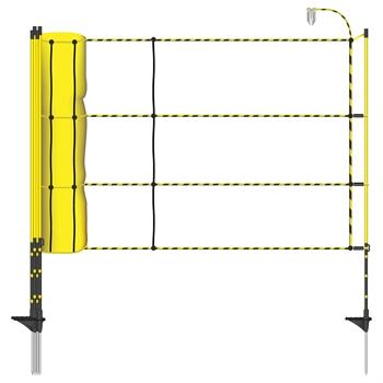 """50m AKO """"EasyNet"""" Schafnetz mit Bodenabstand, 105cm, 1 Spitze"""