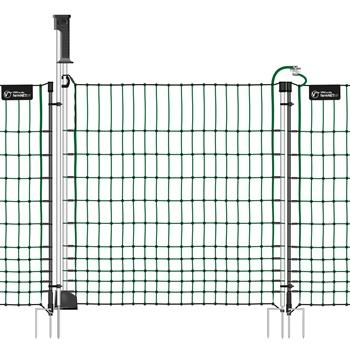 """Tor """"Euronetz"""" für Elektronetze, grün, elektrifizierbar, Höhe: 112cm"""