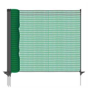 VOSS.farming 20m Premium Universal Begrenzungszaun, 80cm, 12 Pfähle
