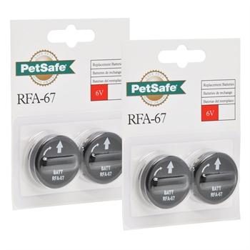 4er Pack Petsafe Batterie Modul RFA-67
