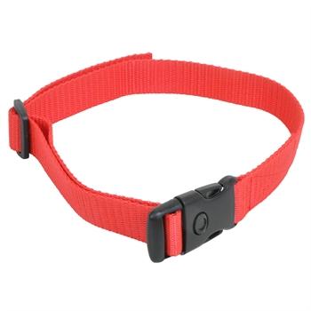 Nylon Halsband, DogTrace + PetSafe + Canicom, rot