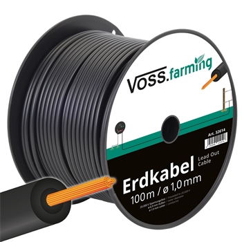 100m Hochspannungs-Erdkabel mit Kupferleiter, extra flexibel