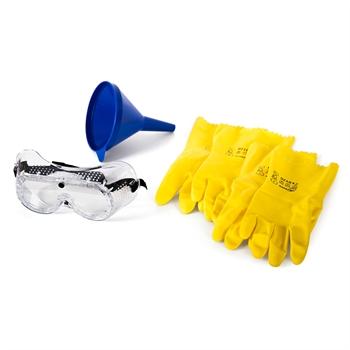 Arbeitsschutzset PSA für die Arbeit mit Schwefelsäure