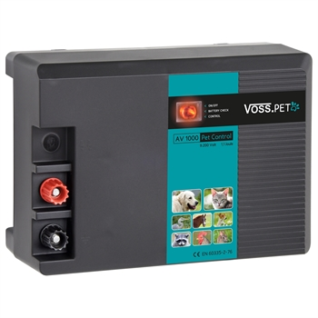 """VOSS.PET """"AV 1000 PetControl"""" 12-V-Weidezaungerät"""
