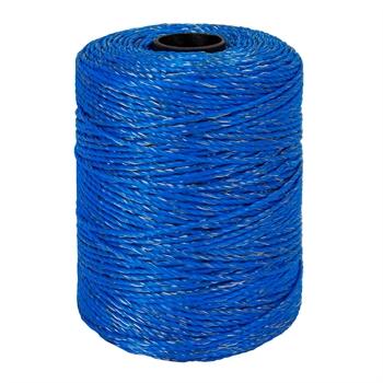 Spezial Wildabwehr Weidezaunlitze 400m, 1x0,25 Kupfer + 8x0,2 Niro, blau