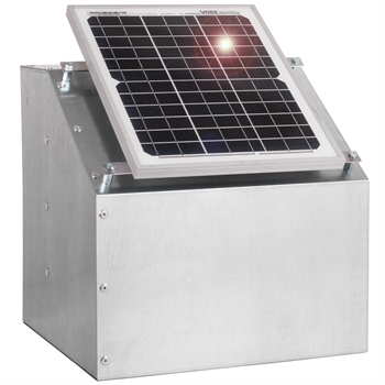 VOSS.farming 12W Solarsystem für den Weidezaun + Box + Zubehör