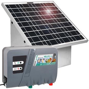 VOSS.farming 30W Solarset + Box + 12V Weidezaungerät HELOS 4 - AKTION!