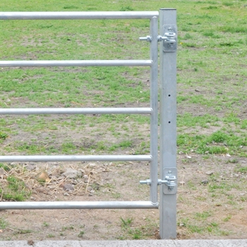 2x VOSS.farming Metall-Pfosten für Weidetore, 200cm