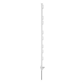 20x Kunststoffpfähle, 120cm, 8 Universalösen
