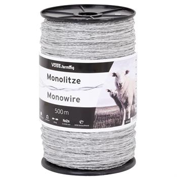 Mono-Litze, Polydraht 500m, transparent 2**