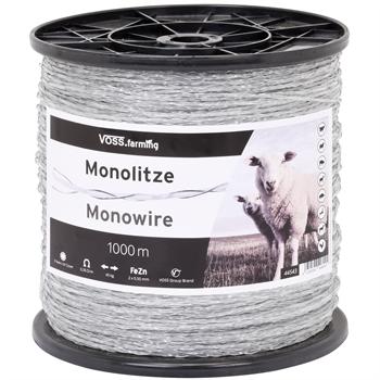 Mono-Litze, Polylitze 1000m, transparent 2**