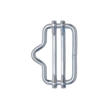 5x VOSS.farming Elektrozaun Band-Verbinder bis 20mm (mit Nase)