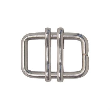 5x VOSS.farming Elektrozaun Band-Verbinder bis 13mm NIRO-EDELSTAHL (ohne Nase)