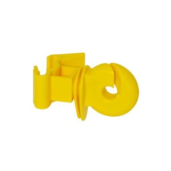 25x VOSS.farming Ringisolator für Festzaunsystem, gelb