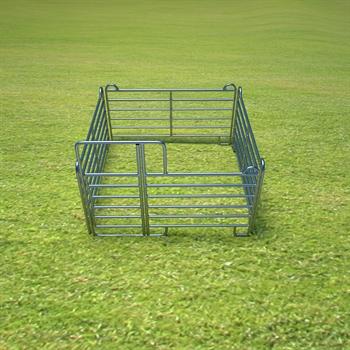 VOSS.farming Weidepanel-Set Einzelbox 3,00 x 3,00 m