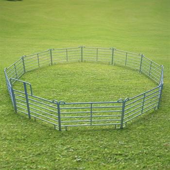 VOSS.farming Weidepanel-Set Longierzirkel klein, 10,4 m Durchmesser
