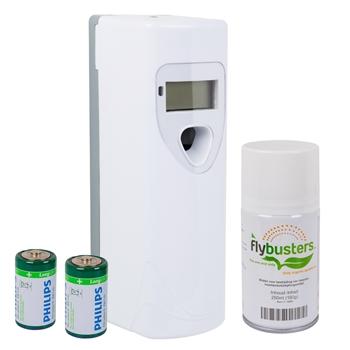 Flybusters-Kennlern-Set: Ecobuster-Spray Flybusters - Insektenvernichter