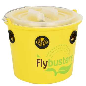 Flybusters Professional Fly Trap, Fliegenschutz für Pferde, Fliegen Falle Outdoor