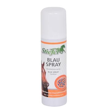 Stiefel Blauspray - blaufärbendes Desinfektionsspray für Pferde, 200ml