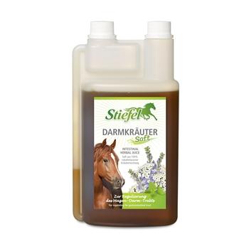 Stiefel Darmkräutersaft für Pferde - zur Regulierung des Magen-Darm-Traktes, 1L