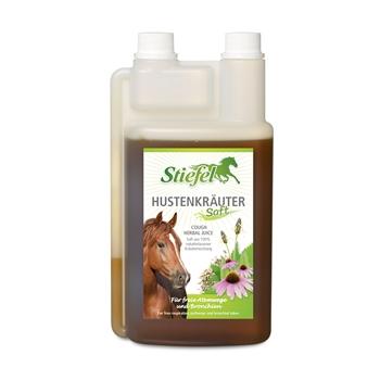 Stiefel Hustenkräutersaft für Pferde - für freie Atemwege und Bronchien, 1L