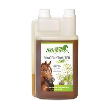 Stiefel Magenkräutersaft für Pferde - für eine stabile Verdauung, 1L