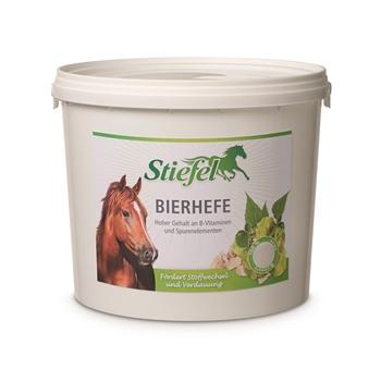 Stiefel Bierhefe für Pferde - fördert Stoffwechsel und Verdauung, 3 kg